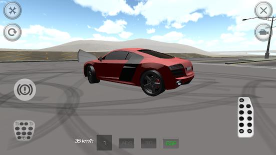 Extreme Fast Car Simulator 3D