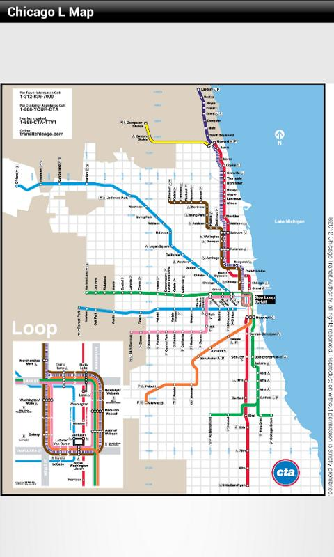 Chicago L Map Android Apps on Google Play