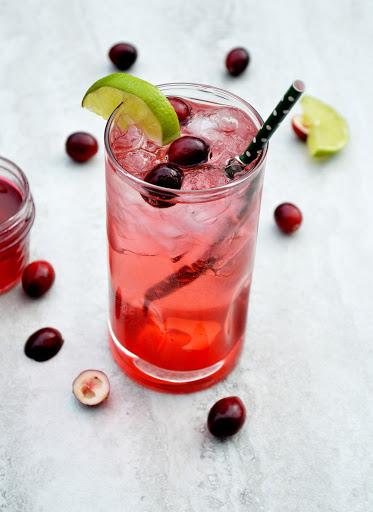 1 ounce vodka 1/2 ounce triple sec Equal parts grenadine (