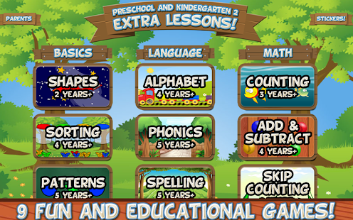 Preschool And Kindergarten 2 Extra Lessons