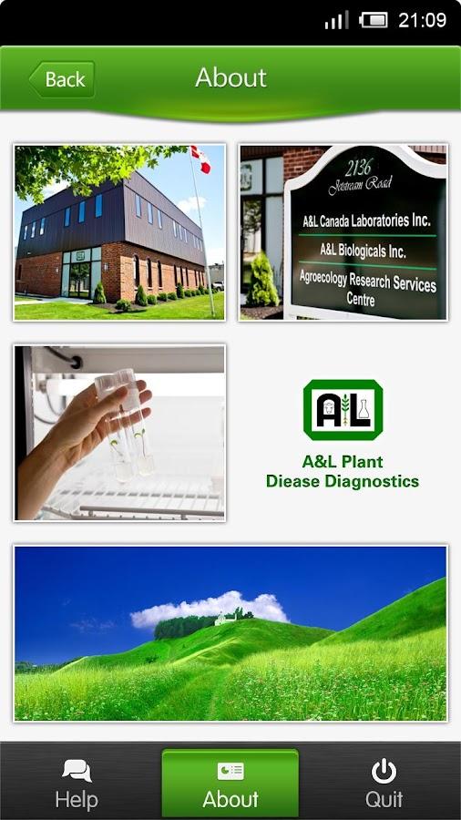 A&L Plant Disease Diagnosis- screenshot
