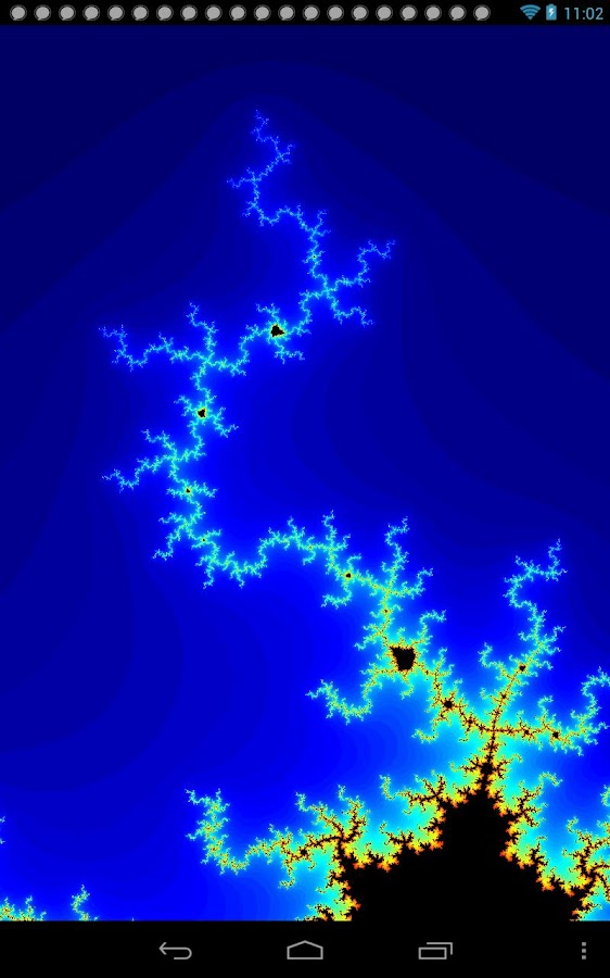 Mandelbrot- screenshot