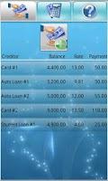Screenshot of Debt Free