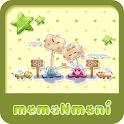 NK 카톡_모모N모니_그린a 카카오톡테마 icon