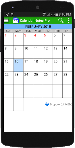 Calendar Notes Pro