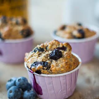 Blueberry Chia Seed Muffins.