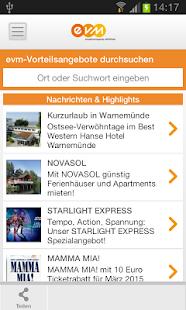 evm Card-App - náhled
