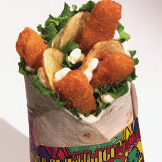 Fish 'n Chips Wrapwich.