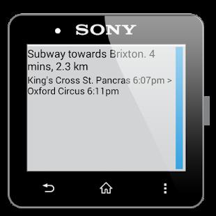 玩交通運輸App|Directions for SmartWatch 2免費|APP試玩