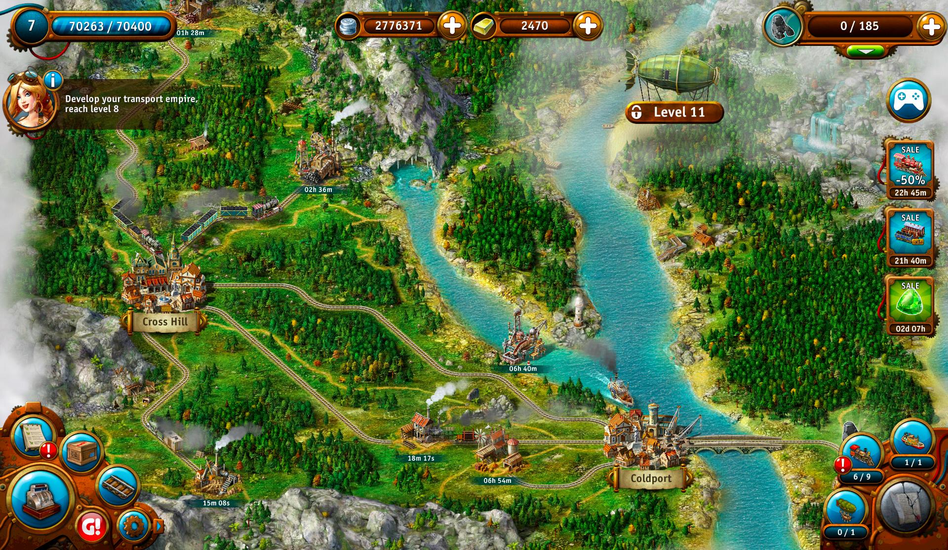 Transport Empire: Steam Tycoon screenshot #6