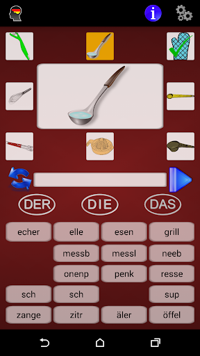 玩教育App|Deutsch Inyahead Vocabulary免費|APP試玩