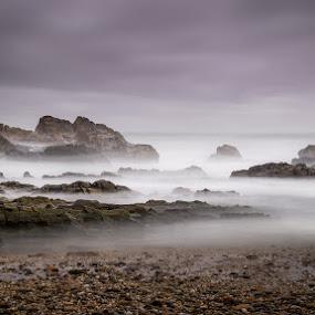 Mood by Ricardo  Guimaraes - Landscapes Waterscapes ( contrast, nature, color, waterscape, mood, long exposure, portugal, landscapes, rocks,  )