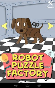Robot Puzzle Factory for kids - screenshot thumbnail