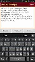 Screenshot of Praise Notepad KJV (Notebook)