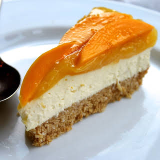 Lemon, Mango & Coconut Cheesecake.