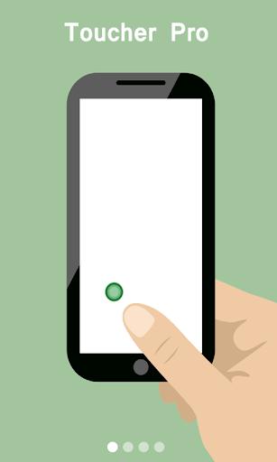 Toucher pro iphone