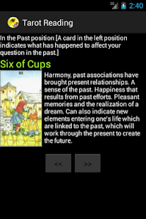 Tarot Reading - screenshot thumbnail