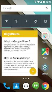BrightNotes - Easy Notetaking! Screenshot 5