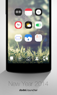 New Year 2014 dodol theme - screenshot thumbnail