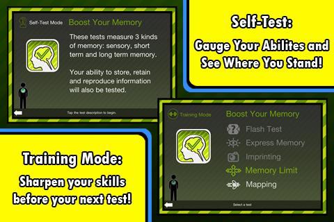 Boost Your Memory- screenshot