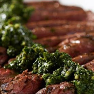 David Venable's Grilled Chimichurri Flank Steak