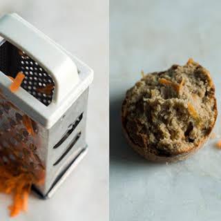 Carrot and Tahini Muffins.