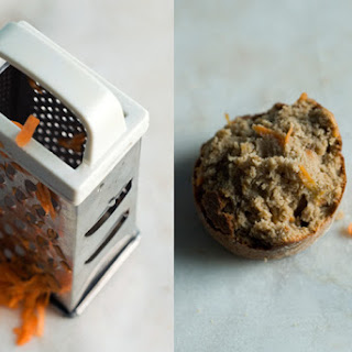 Carrot and Tahini Muffins.