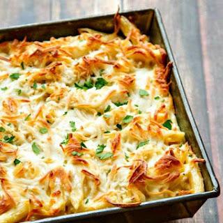 Chicken Alfredo Pasta Bake Recipes.