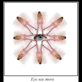 Eye see more by Etienne Chalmet - Typography Quotes & Sentences ( erotic, girls, sexy, nude, blond, beauty,  )