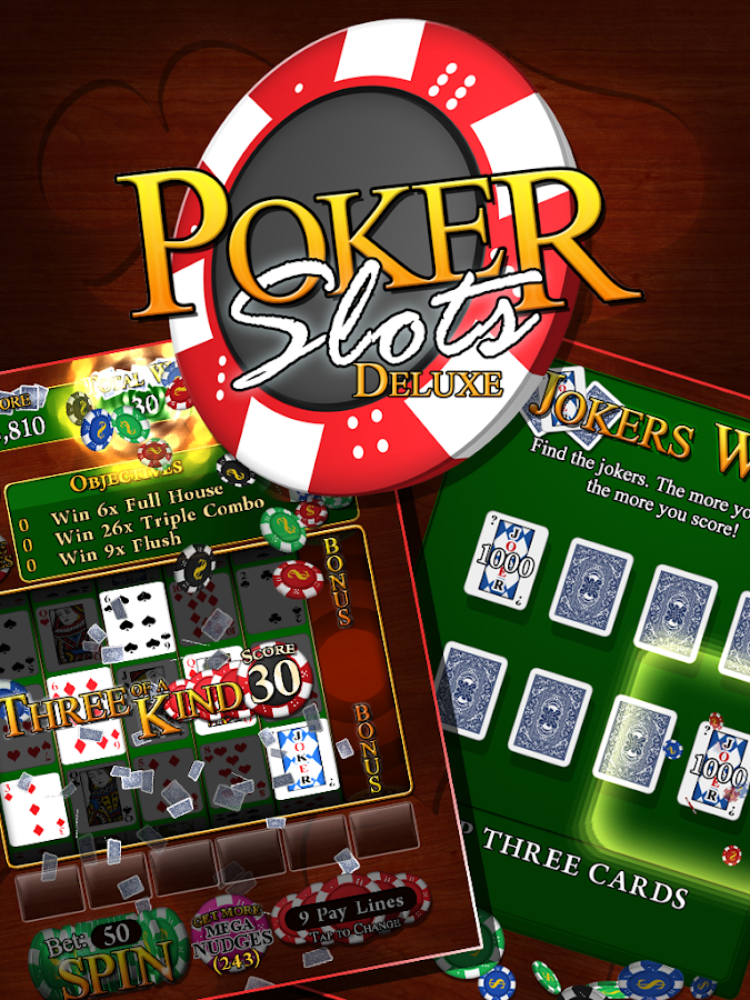 Poker Slots Deluxe- screenshot