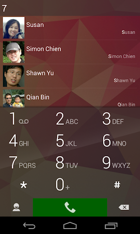 ExDialer - Dialer & Contacts Screenshot