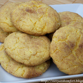 Snickerdoodle and Coconut Cookies.
