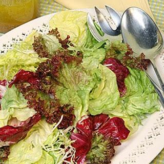 Green Salad with Basic Vinaigrette