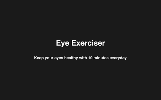 Eye Exerciser