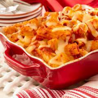 Hearty Baked Rigatoni.