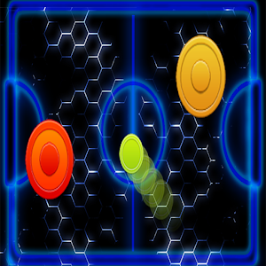 Glow Hockey Fast for PC and MAC