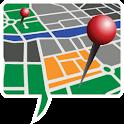 txt2map Free logo