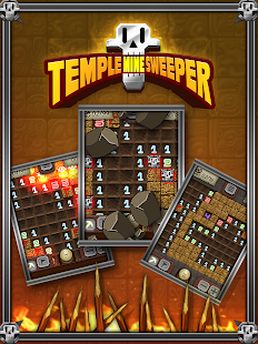 Temple Minesweeper - Free Minefield Game- screenshot thumbnail