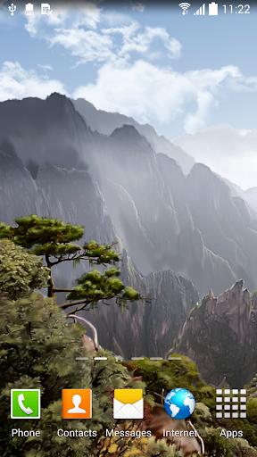 Mountains of Japan Wallpaper