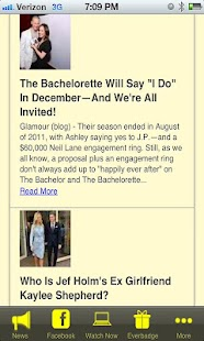 The Bachelorette Fan App - screenshot thumbnail