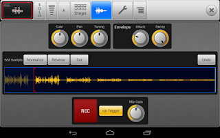 Screenshot of SPC - Music Drum Pad Demo