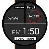 TOEIC Timer Watchface