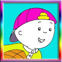 Caillou Coloring Book Game icon