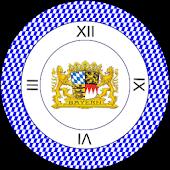 Bayern Uhr Widget