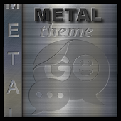 METAL THEME BRUSHED STEEL