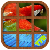 Parrot Sliding Puzzle