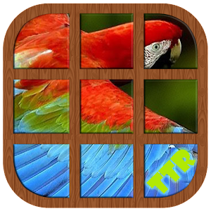 Parrot Sliding Puzzle for PC and MAC
