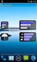 Screenshot of Rain Alarm OSM