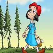 Красная Шапочка - Книга детям