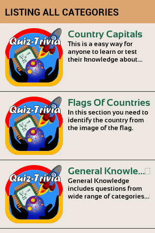Country Capitals & Flags Quiz- screenshot